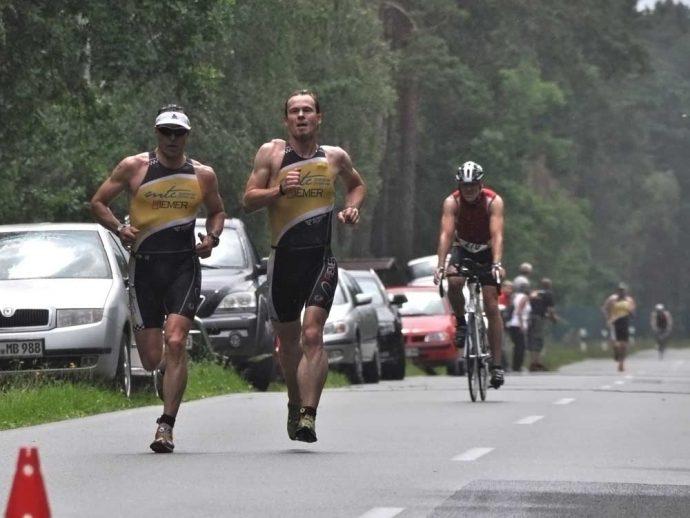 Altmark-Triathlon 2012, Ulf Starke und Christian Gramm