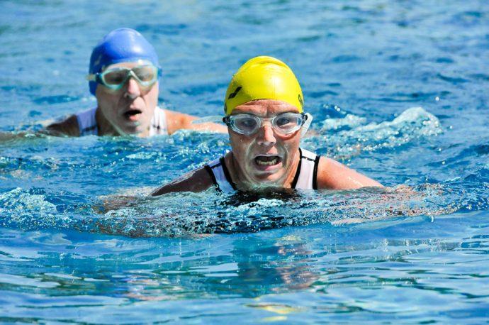 Wanzleber Triathlon 2016, Schwimmen
