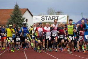 Start zum Geiseltalduathlon 2017