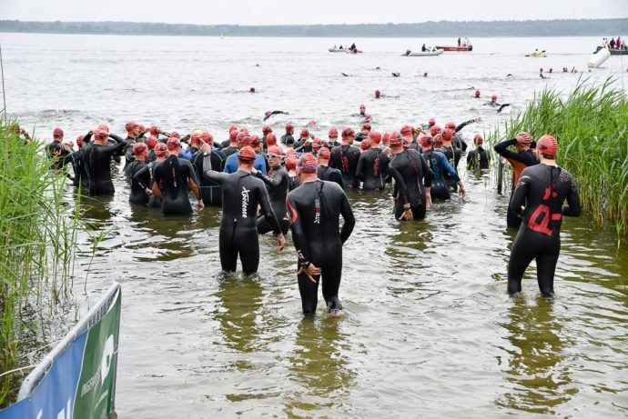 Start zum Arendseetriathlon 2017