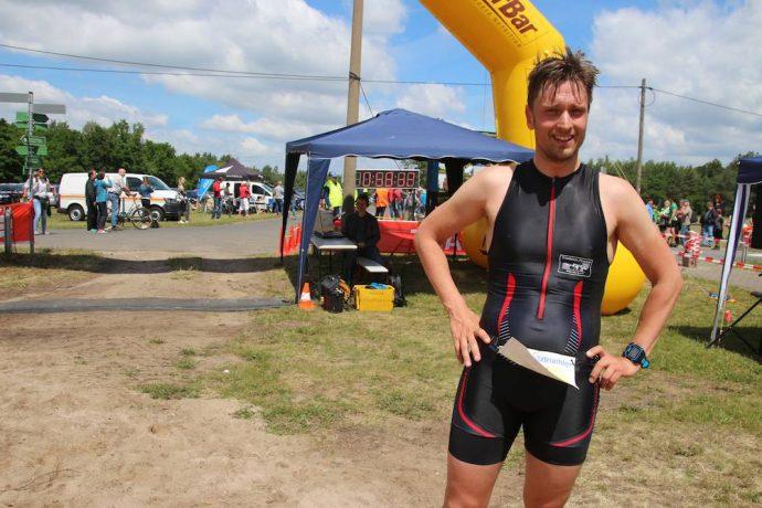 Thomas Schmidt gewinnt erneut den Bergwitztriathlon
